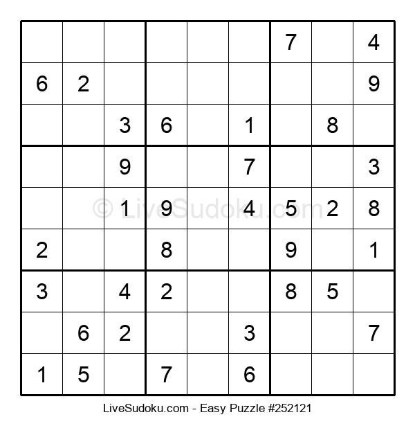 Beginners Puzzle #252121