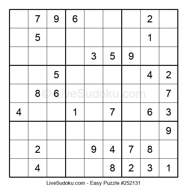 Beginners Puzzle #252131