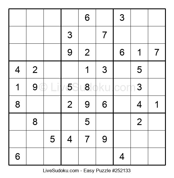 Beginners Puzzle #252133