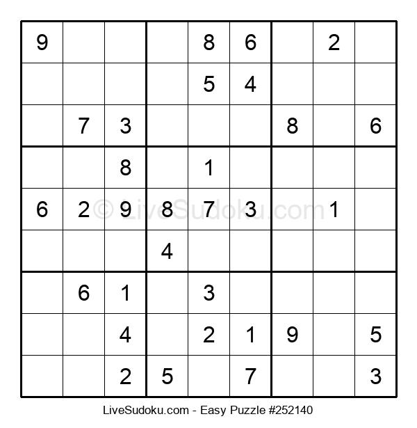 Beginners Puzzle #252140