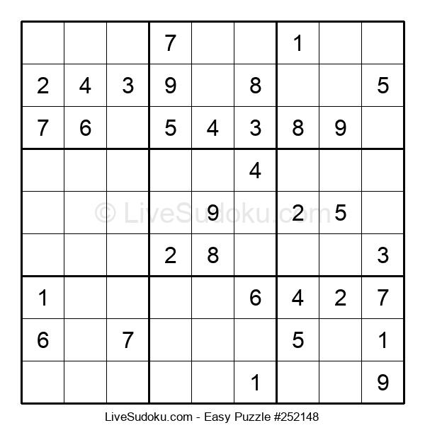 Beginners Puzzle #252148