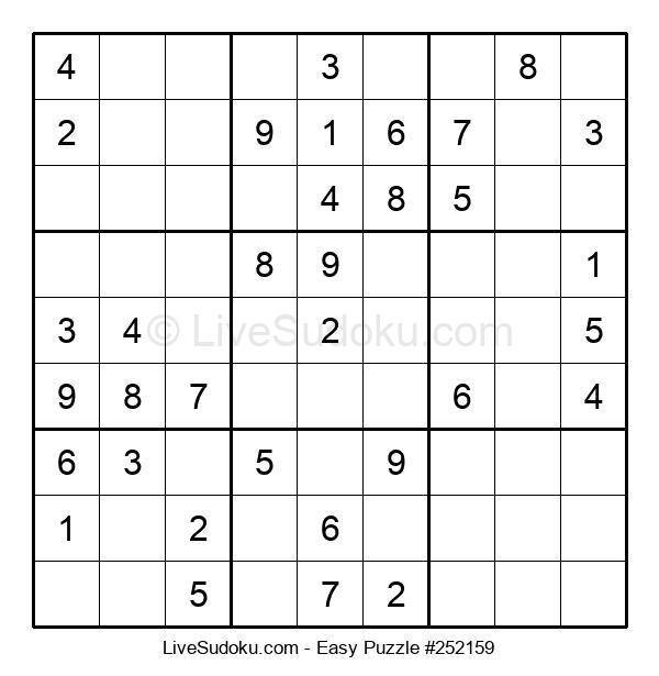 Beginners Puzzle #252159