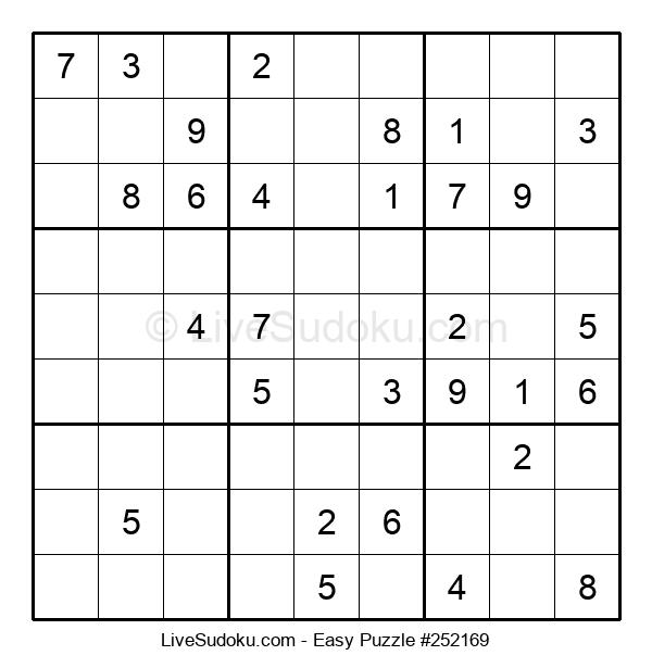 Beginners Puzzle #252169