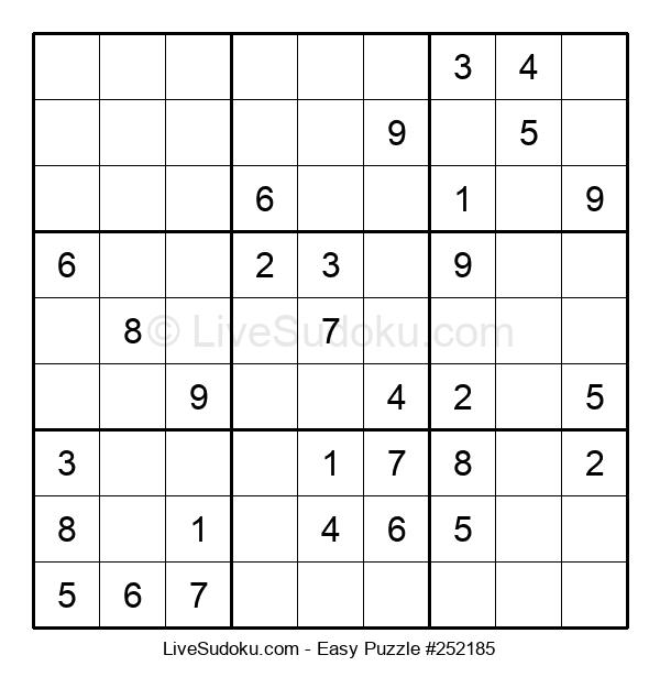 Beginners Puzzle #252185