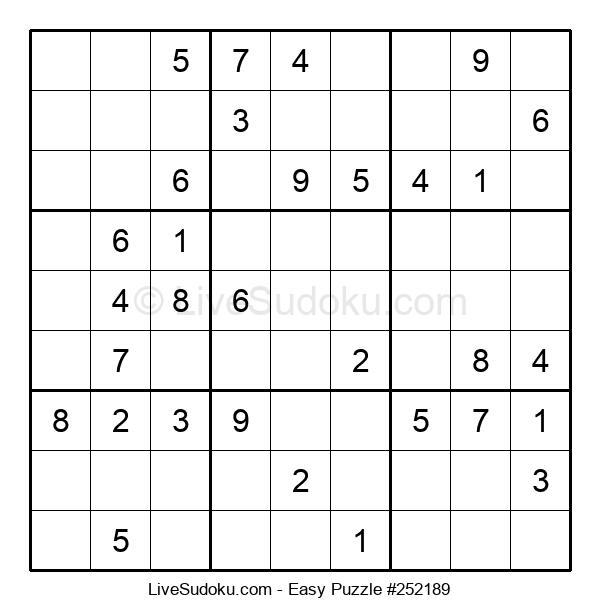 Beginners Puzzle #252189
