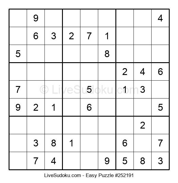 Beginners Puzzle #252191