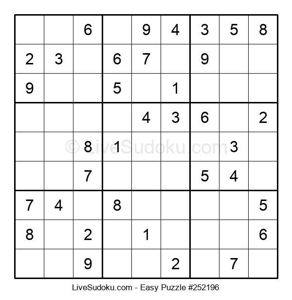 Beginners Puzzle #252196