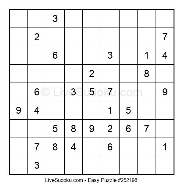 Beginners Puzzle #252198