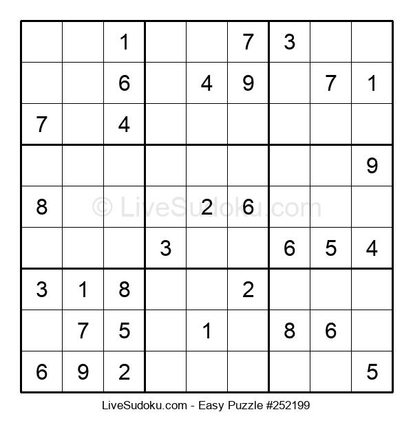 Beginners Puzzle #252199