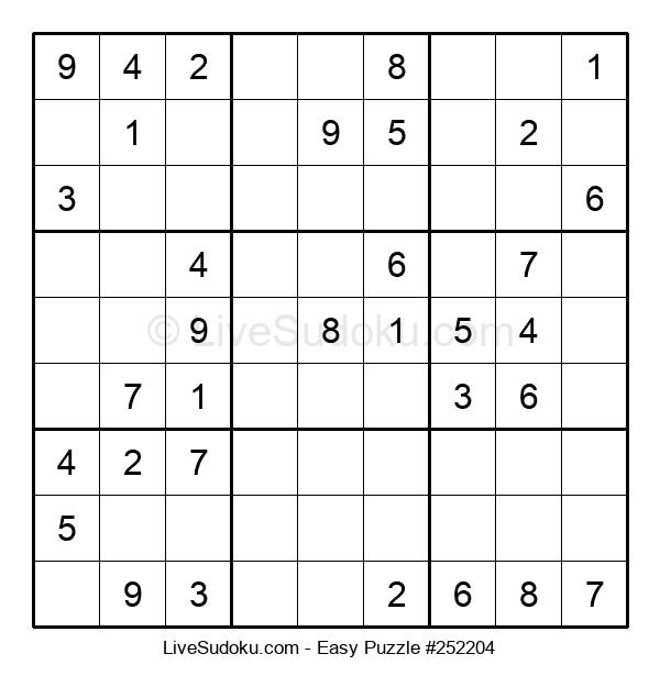 Beginners Puzzle #252204