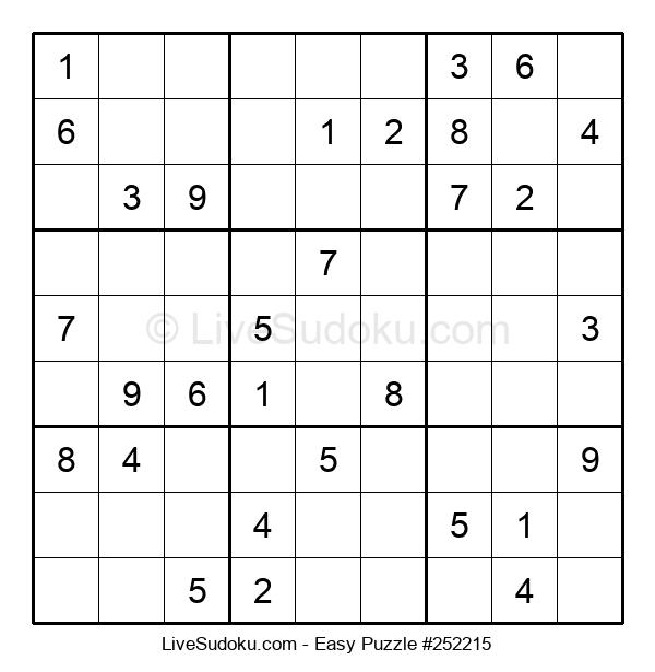Beginners Puzzle #252215