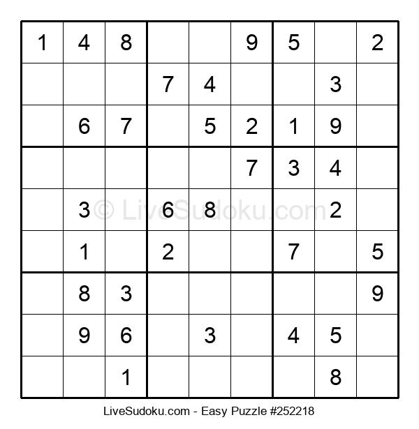 Beginners Puzzle #252218