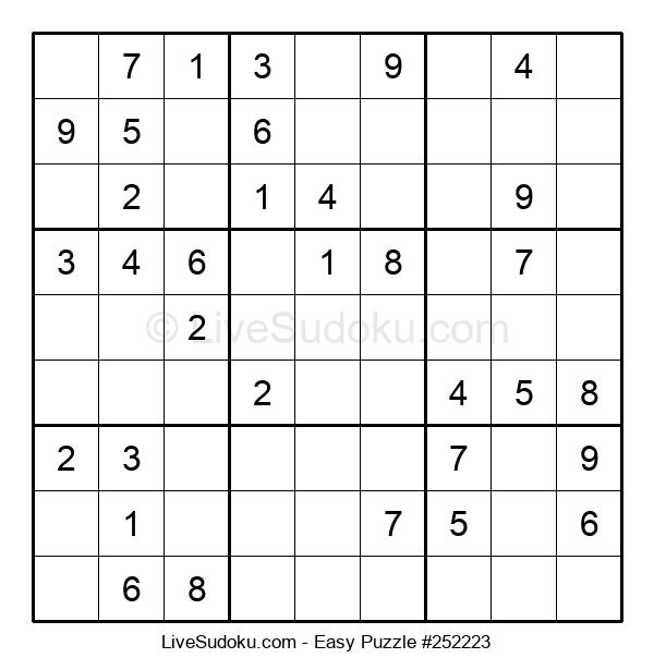 Beginners Puzzle #252223