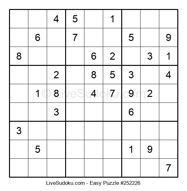 Beginners Puzzle #252226