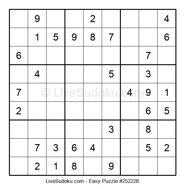 Beginners Puzzle #252228