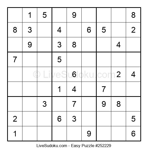 Beginners Puzzle #252229