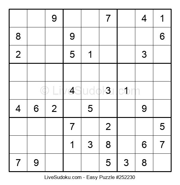 Beginners Puzzle #252230