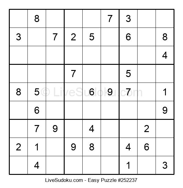 Beginners Puzzle #252237