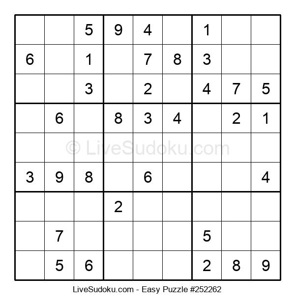 Beginners Puzzle #252262