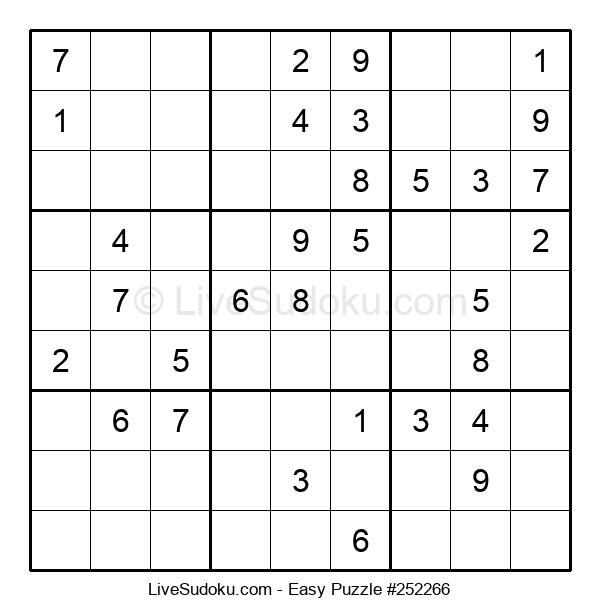 Beginners Puzzle #252266