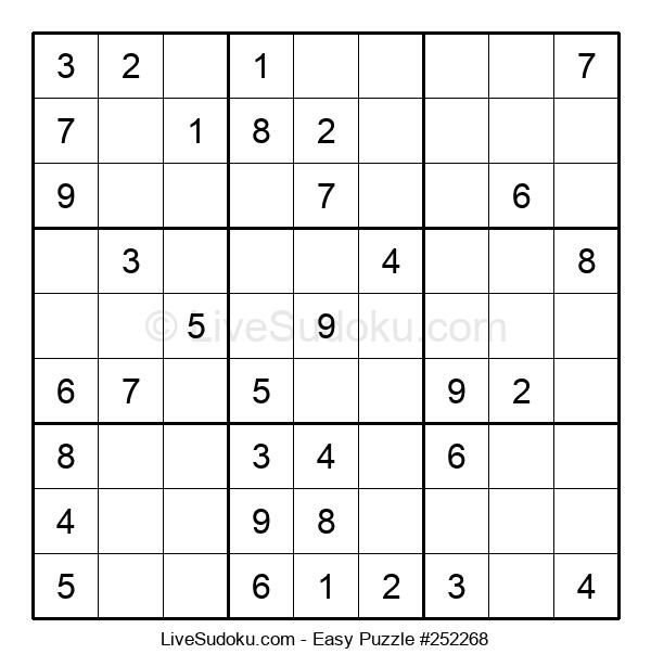 Beginners Puzzle #252268