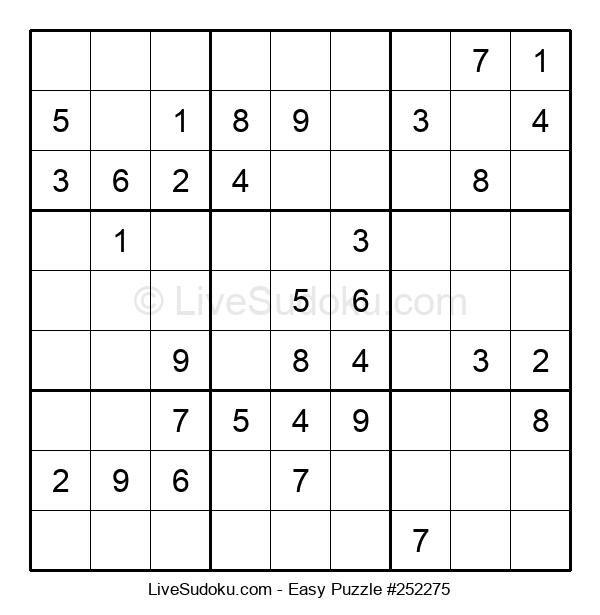 Beginners Puzzle #252275