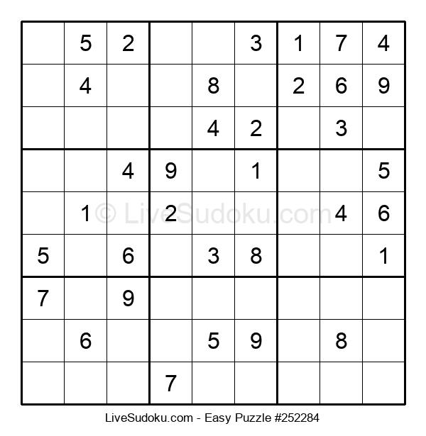 Beginners Puzzle #252284