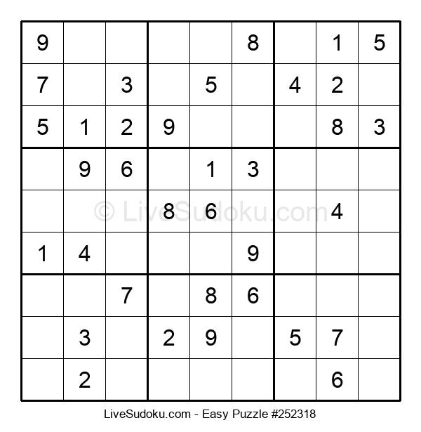 Beginners Puzzle #252318