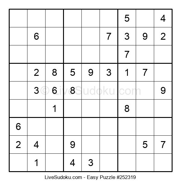 Beginners Puzzle #252319