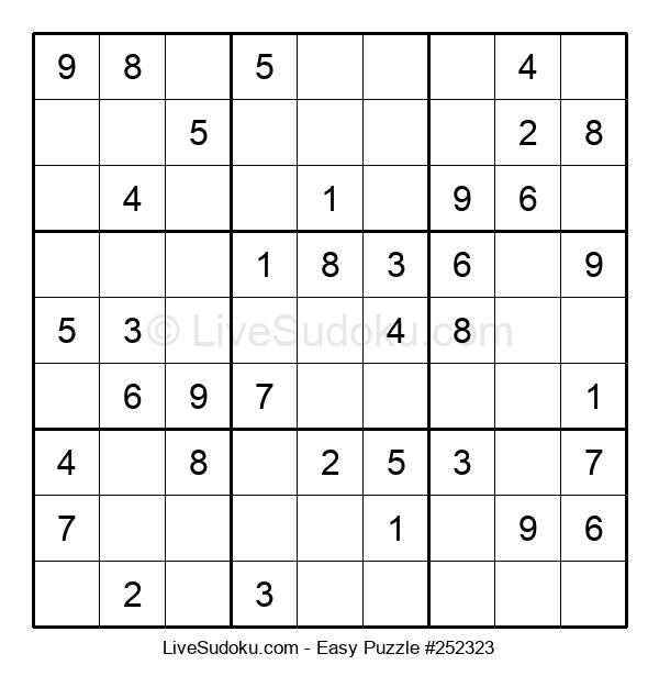 Beginners Puzzle #252323