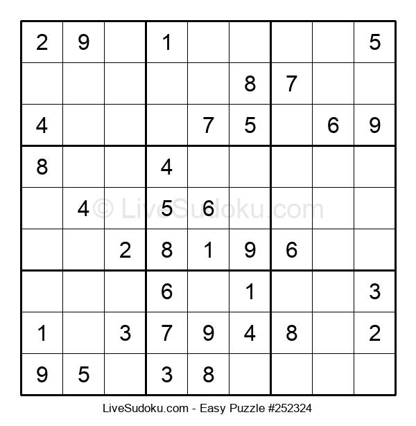 Beginners Puzzle #252324