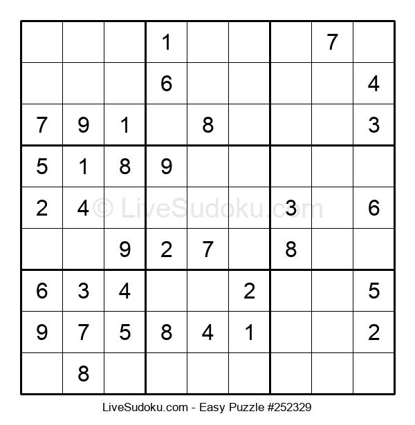 Beginners Puzzle #252329