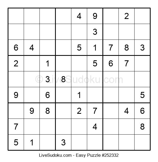 Beginners Puzzle #252332