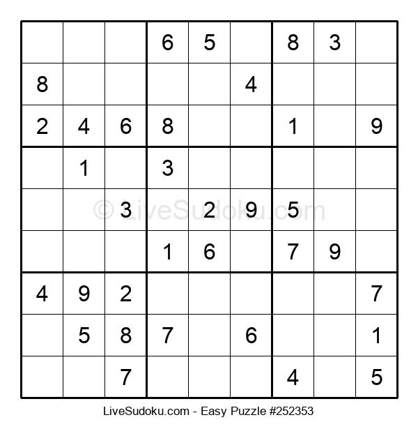 Beginners Puzzle #252353