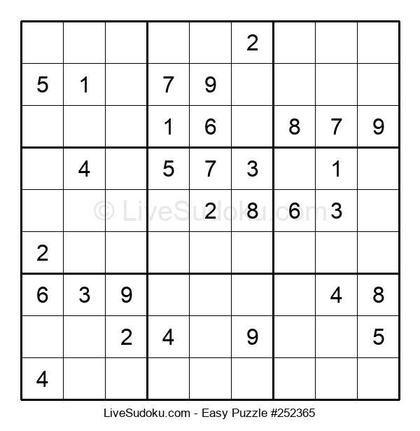 Beginners Puzzle #252365