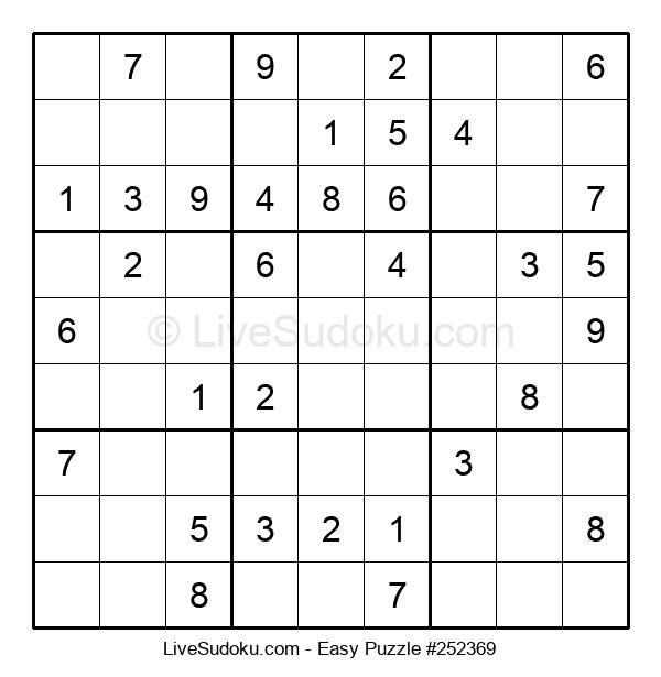 Beginners Puzzle #252369