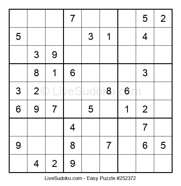 Beginners Puzzle #252372