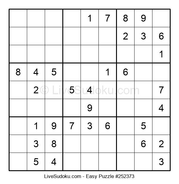 Beginners Puzzle #252373