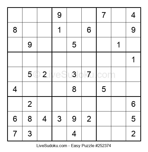 Beginners Puzzle #252374