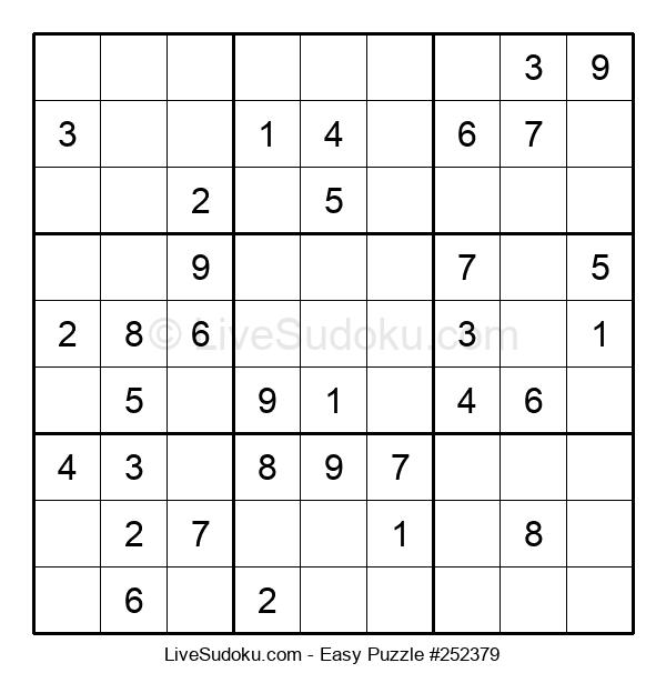 Beginners Puzzle #252379