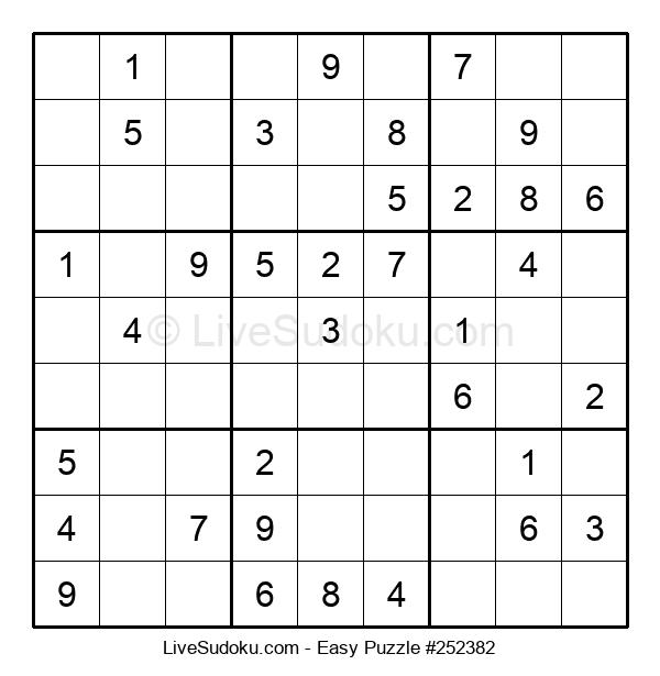 Beginners Puzzle #252382