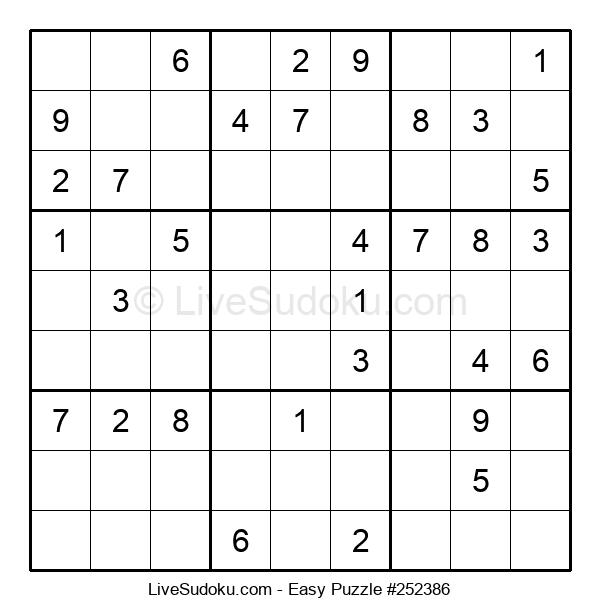 Beginners Puzzle #252386