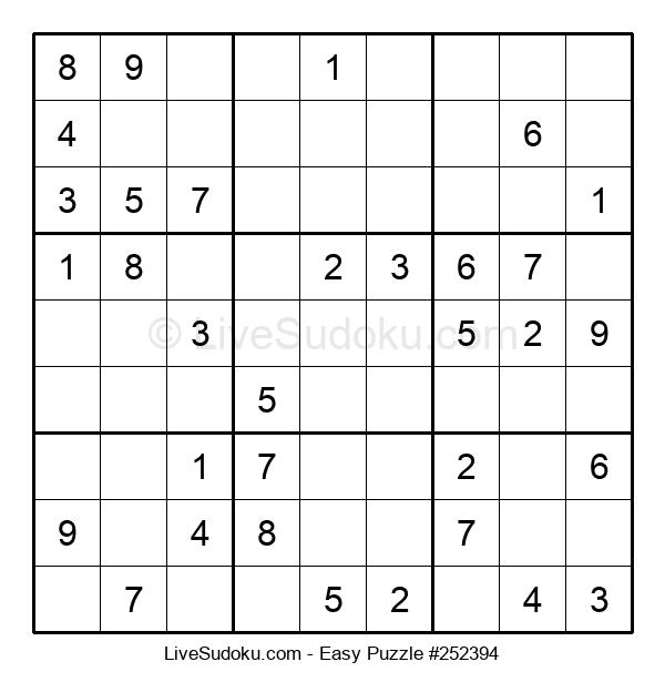 Beginners Puzzle #252394