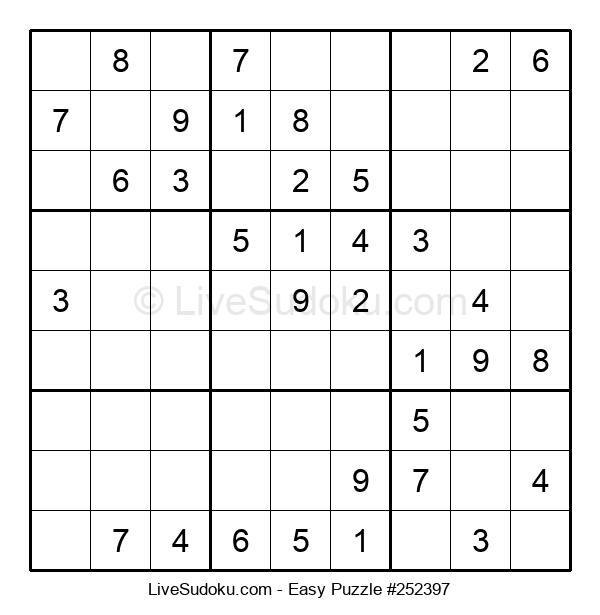 Beginners Puzzle #252397