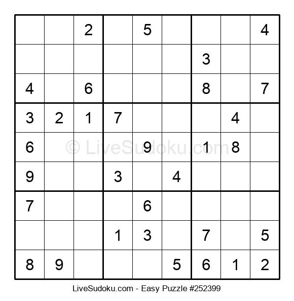 Beginners Puzzle #252399