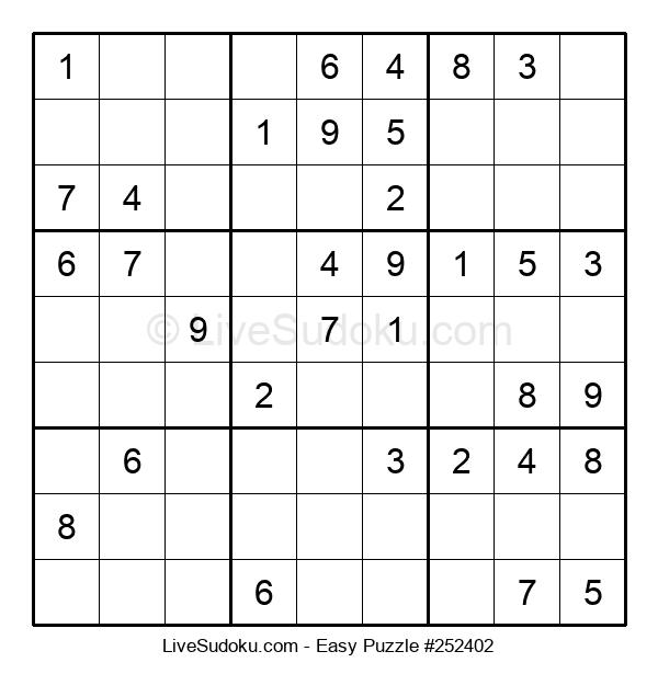 Beginners Puzzle #252402