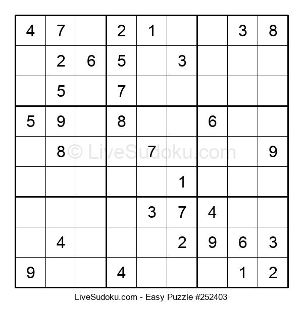 Beginners Puzzle #252403