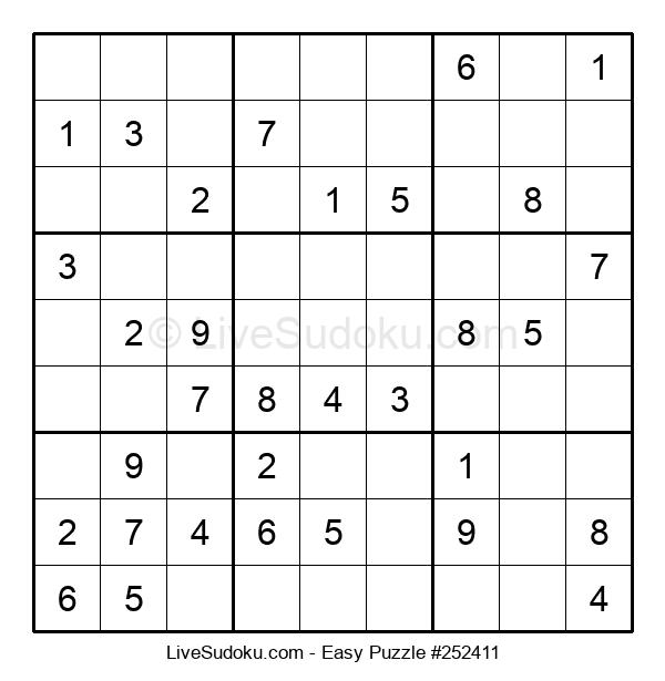 Beginners Puzzle #252411