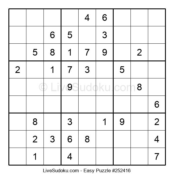 Beginners Puzzle #252416