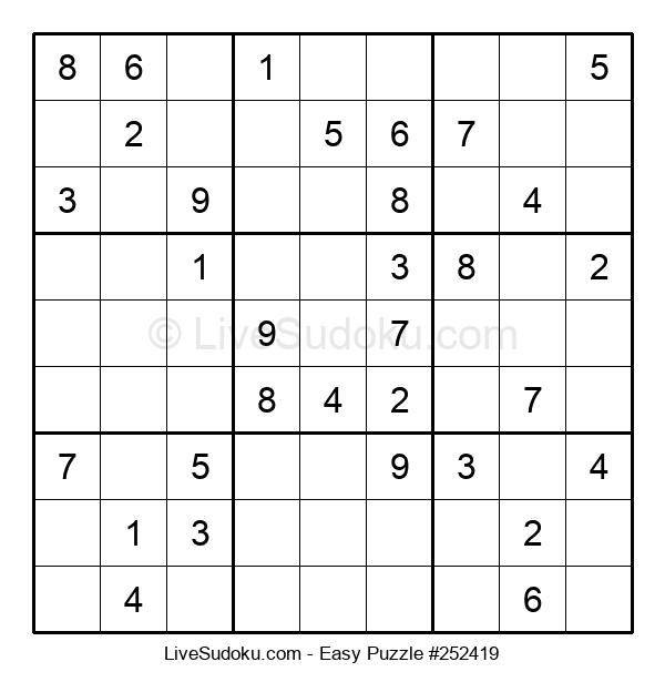 Beginners Puzzle #252419